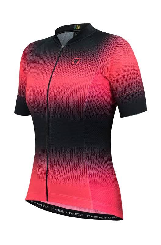 Blusa de Ciclismo Feminina Free Force Sport Star