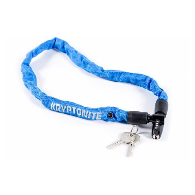 Cadeado Kryptonite Keeper 465 com Corrente e Chave Azul