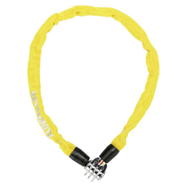 Cadeado Kryptonite Keeper 465 Combo com Corrente e Segredo Amarelo