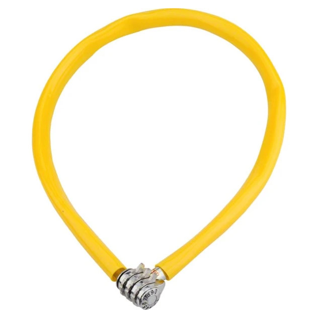 Cadeado Kryptonite Keeper 665 Combo com Cabo de Aço e Segredo Amarelo