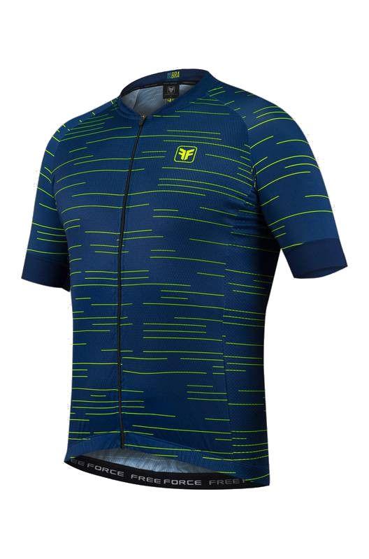 Camisa de Ciclismo Masculina Free Force Sport Row