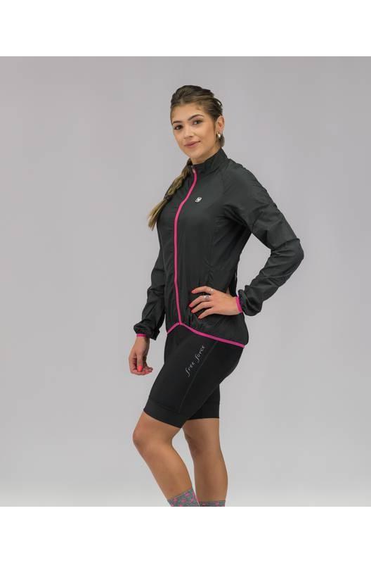 Jaqueta Corta-Vento Feminina Free Force Sport Preta