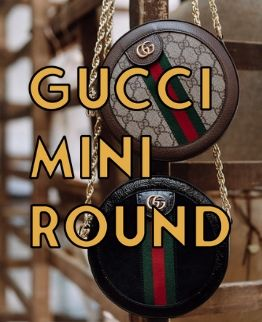 gucci mini round