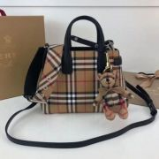 BOLSA BURBERRY BANNER CHECKED CROSSBODY