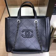 BOLSA CHANEL CC DEERSKIN SHOPPING