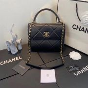 BOLSA CHANEL TRENDY CC TOP HANDLE A92236