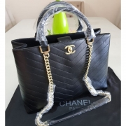 BOLSA CHANEL SHOPPER CHEVRON **OUTLET**