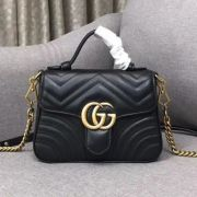 BOLSA GUCCI GG MARMONT TOP HANDLE 498110