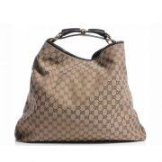 BOLSA GUCCI HORSEBIT CHAIN HOBO GG SUPREME LARGE