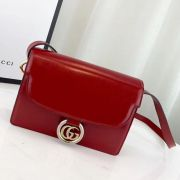 BOLSA GUCCI LEATHER SHOULDER BAG 589474