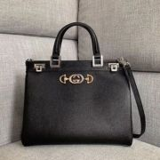 BOLSA GUCCI ZUMI GRAINY LEATHER MEDIUM TOP HANDLE 56471