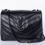 BOLSA YSL LOULOU ALL BLACK