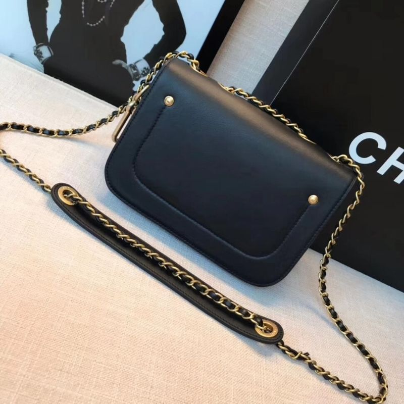 BOLSA CHANEL FLAP BAG & COIN PURSE AS1094