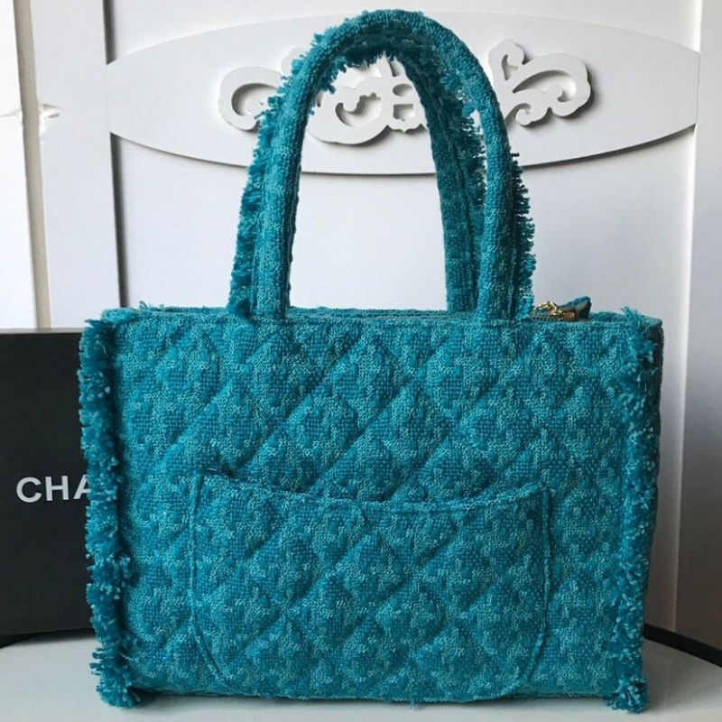 BOLSA CHANEL GIANT LOGO SHOPPING