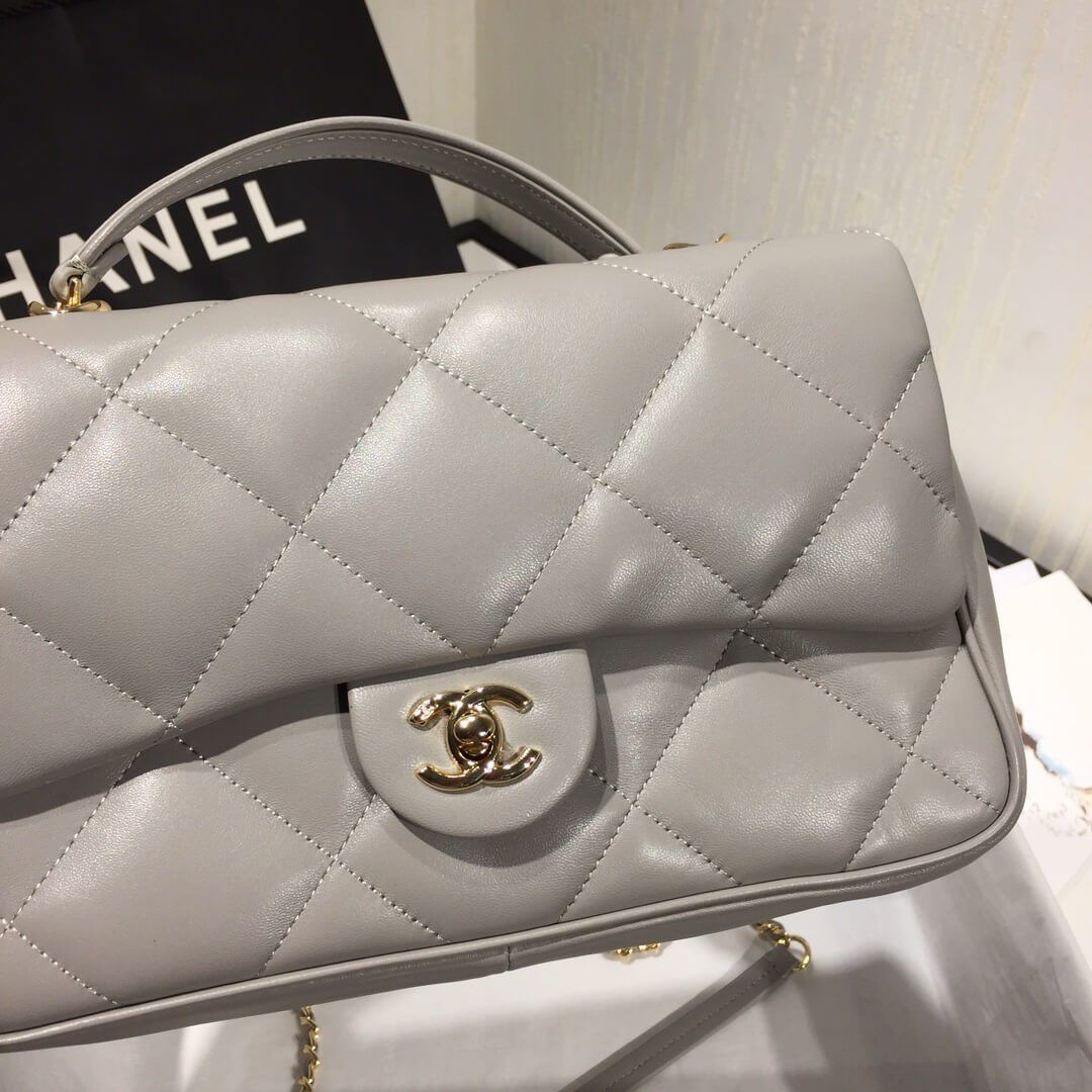 BOLSA CHANEL QUILTED LAMBSKIN AS1115