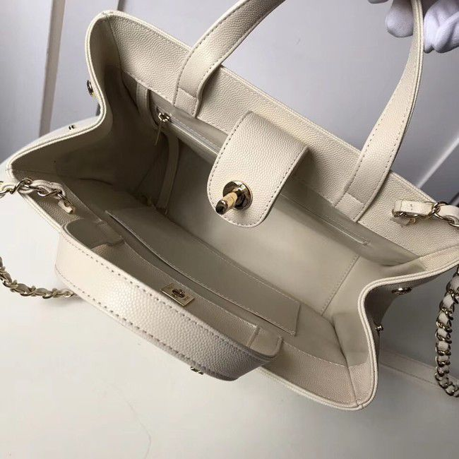 BOLSA CHANEL SHOPPING BAG GRAINED CALFSKIN A93794