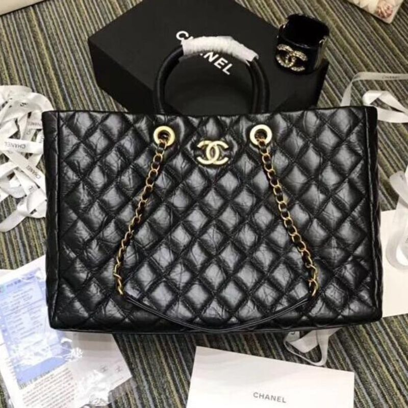 BOLSA CHANEL SHOPPING TOTE A93525