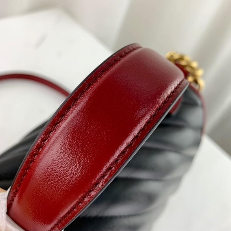 BOLSA GUCCI GG MARMONT SMALL TOP HANDLE 498110