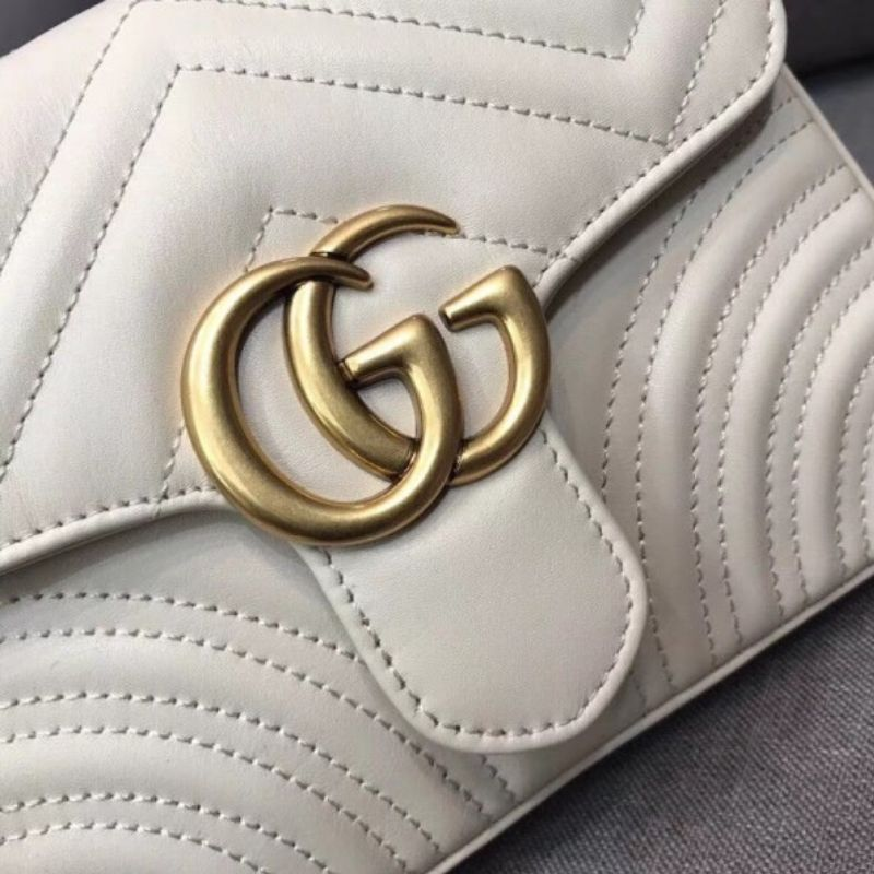 BOLSA GUCCI GG MARMONT TOP HANDLE 498110