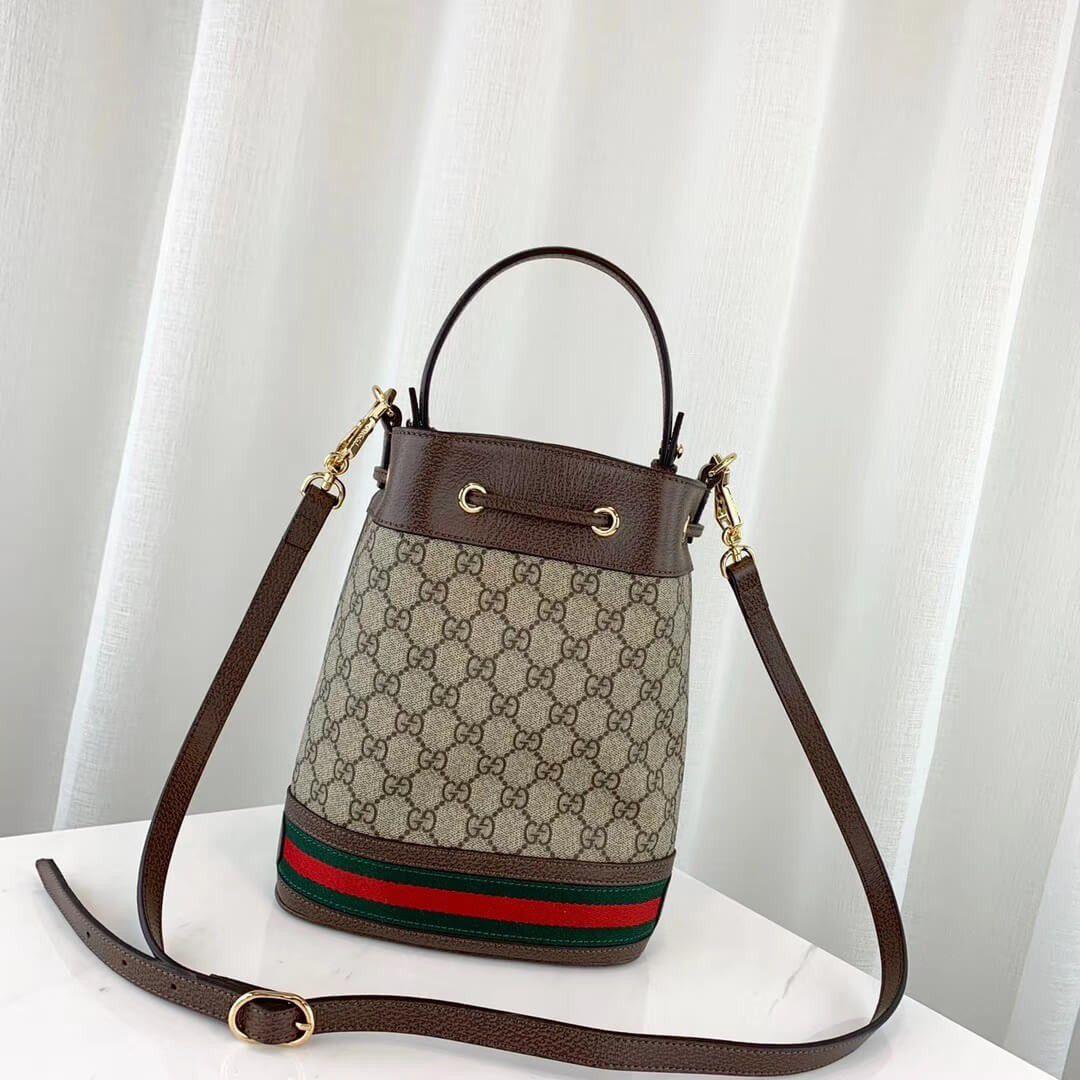 Bolsa Gucci Ophidia Gg Bucket Bag