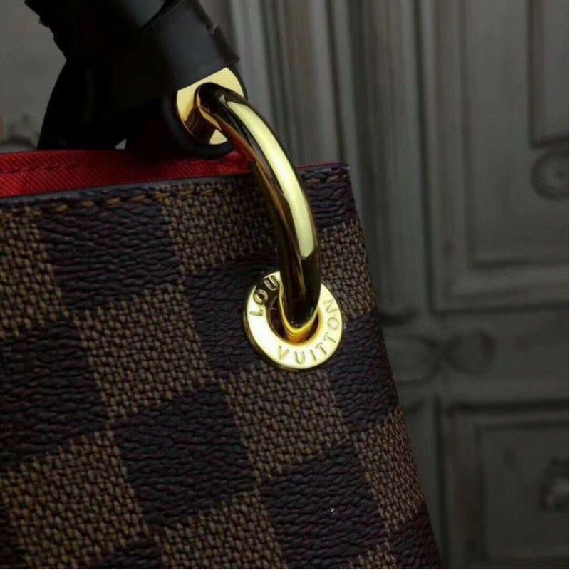 BOLSA LOUIS VUITTON GRACEFUL DAMIER EBENE