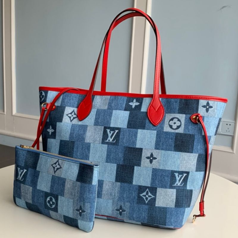 BOLSA LOUIS VUITTON NEVERFULL JEANS M44981