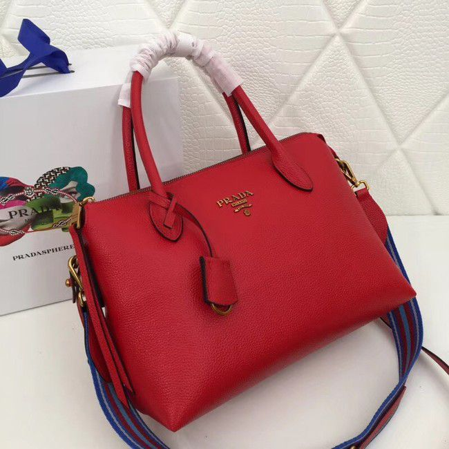 BOLSA PRADA LEATHER HANDBAG 1BA157