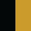 Preto - Ferragem Dourada