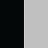 Preto - Ferragem Prata