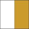 Branco - Ferragem Dourada