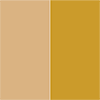 Bege - Ferragem Dourada