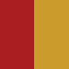 Vermelho - Ferragem Dourada
