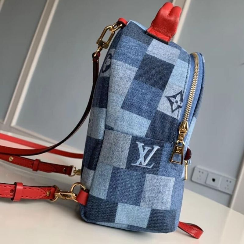 MOCHILA LOUIS VUITTON PALM SPRINGS MONOGRAM DENIM M45043