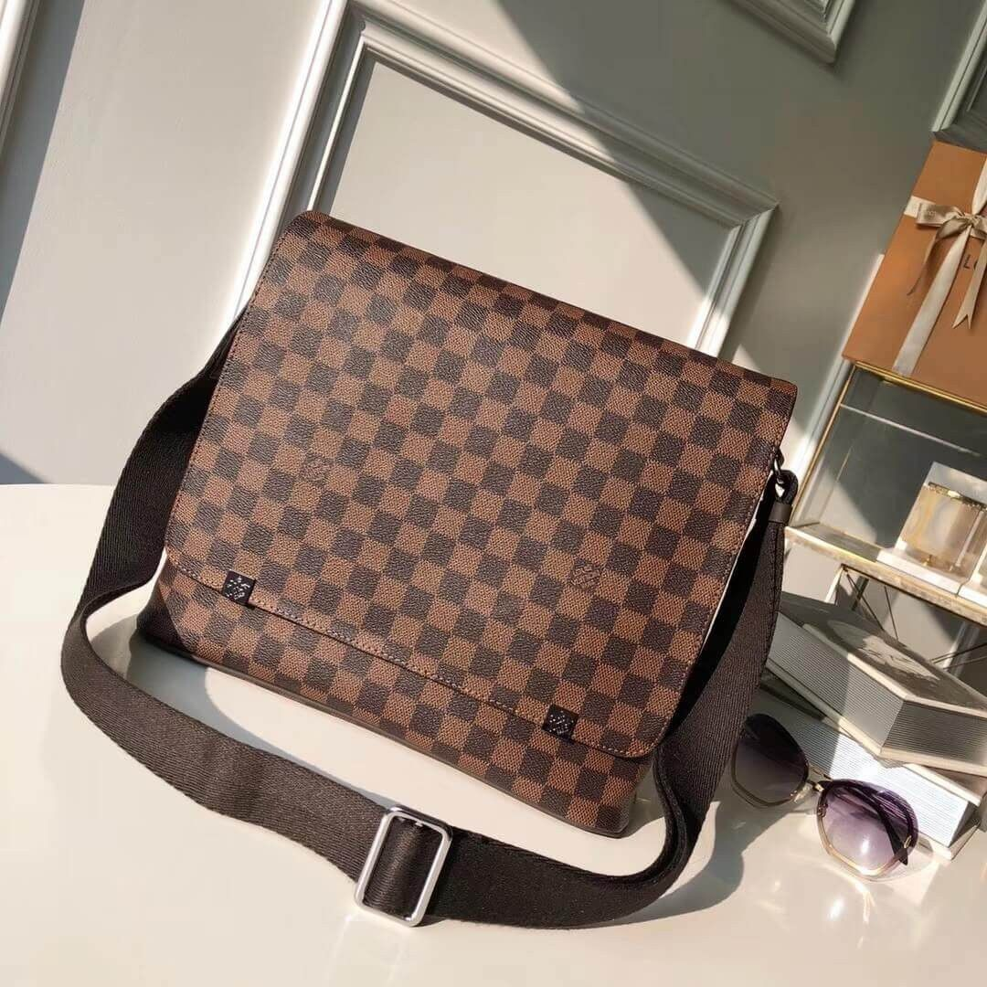 BOLSA LOUIS VUITTON DAMIER EBENE DISTRICT