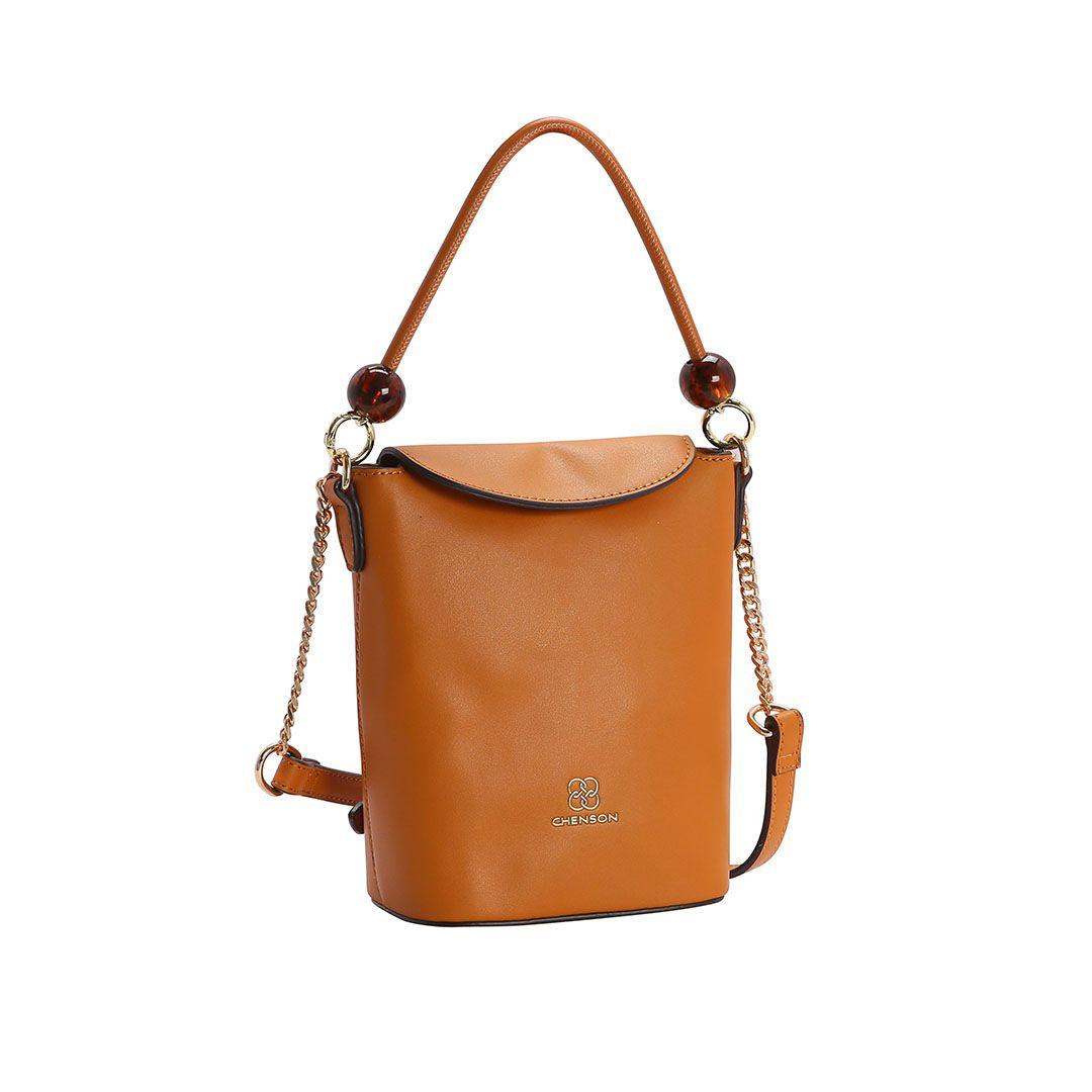 Bolsa Feminina Chenson Mini Bags Transversal Laranja