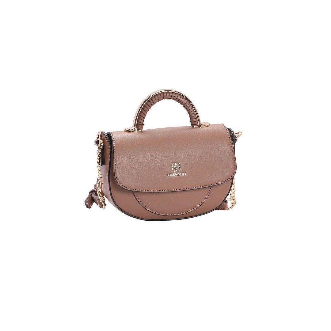 Bolsa Feminina Chenson Mini Bags Transversal Marrom Maran
