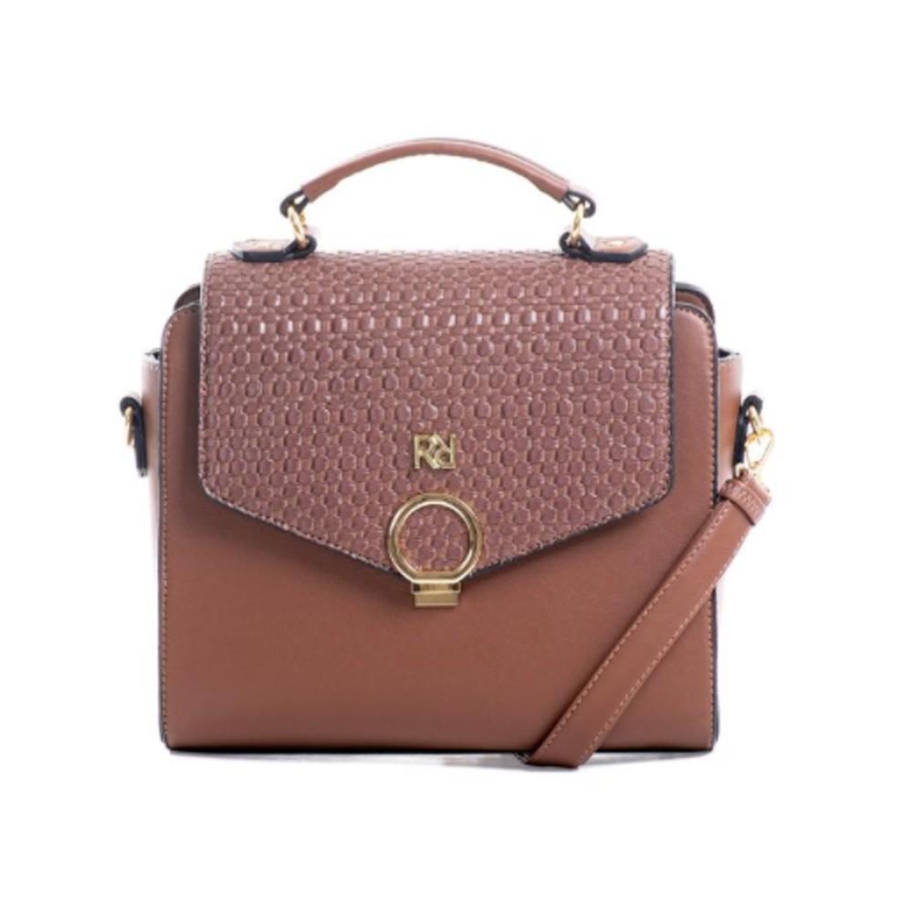 Bolsa Feminina Rafitthy 28 02162A3 Cacau