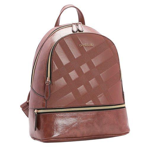 Bolsa Mochila feminina Chenson Textura Xadrez