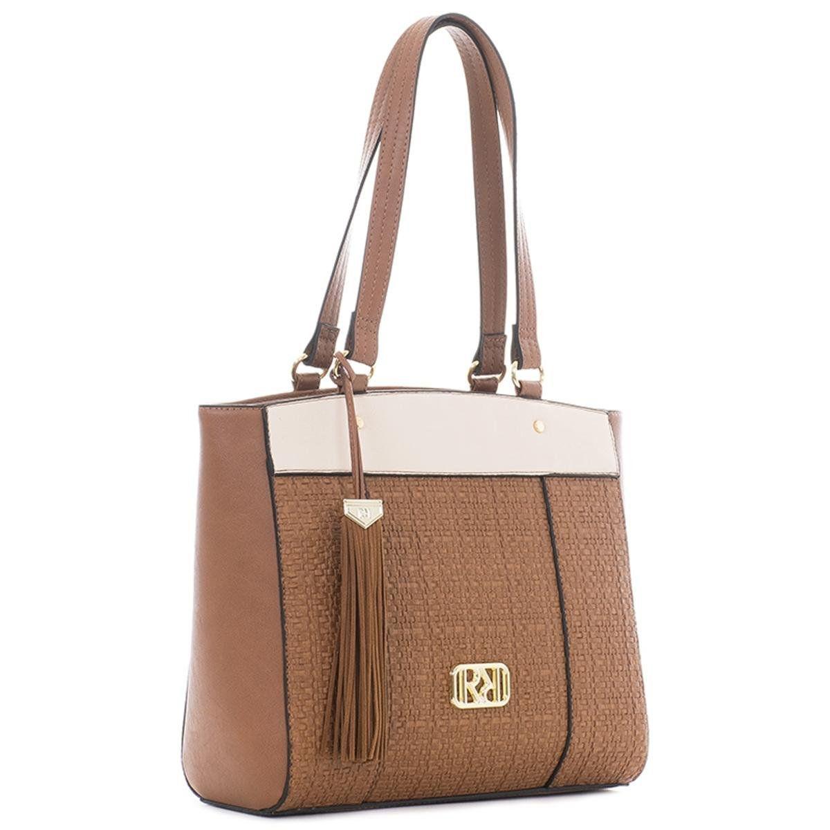 Bolsa rafitthy Tote Bag Marrom Feminino