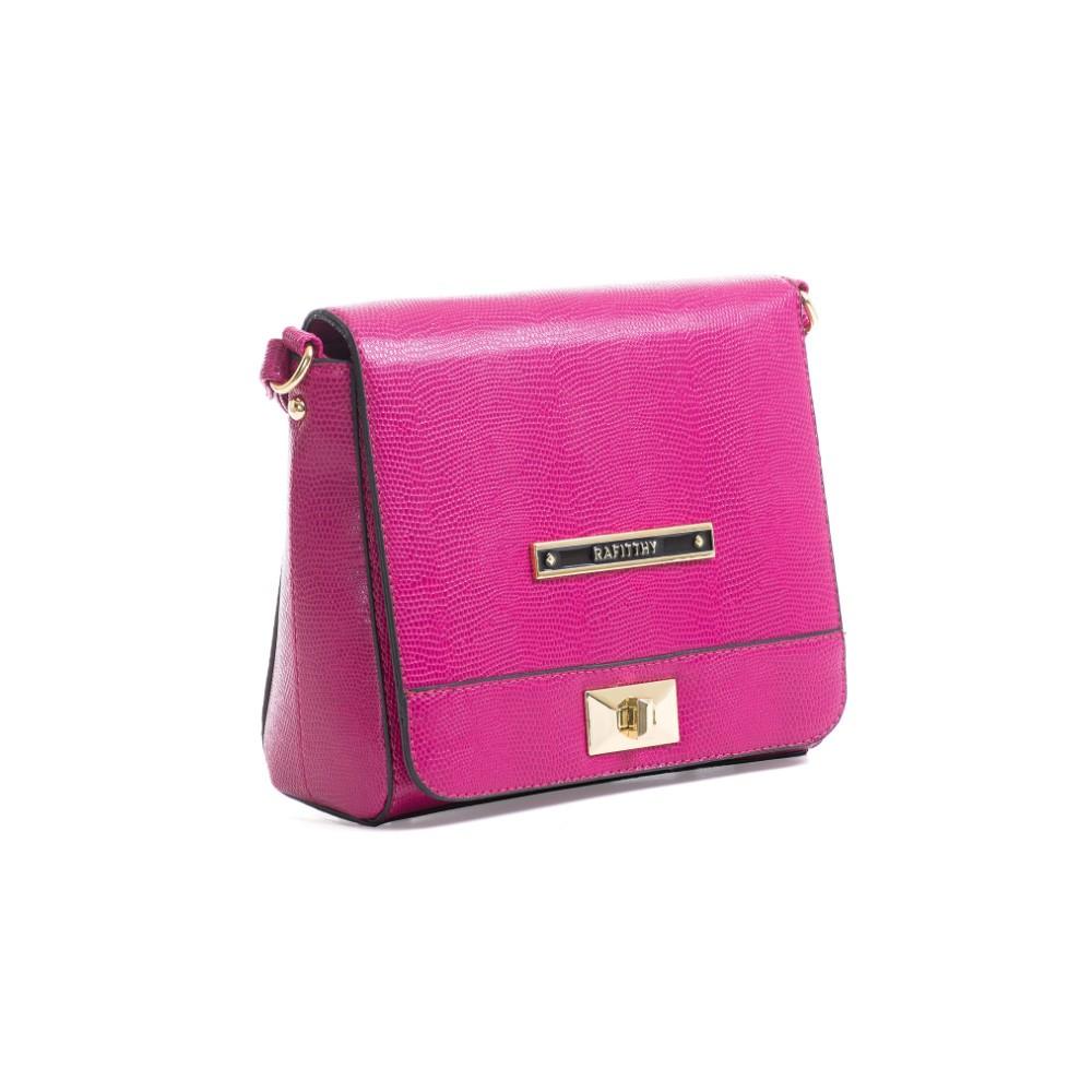 Minibolsa Feminina Rafitthy 2802307B2 Hot Pink