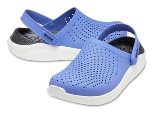 Sandália Crocs LiteRide Clog Azul 204592AZCL