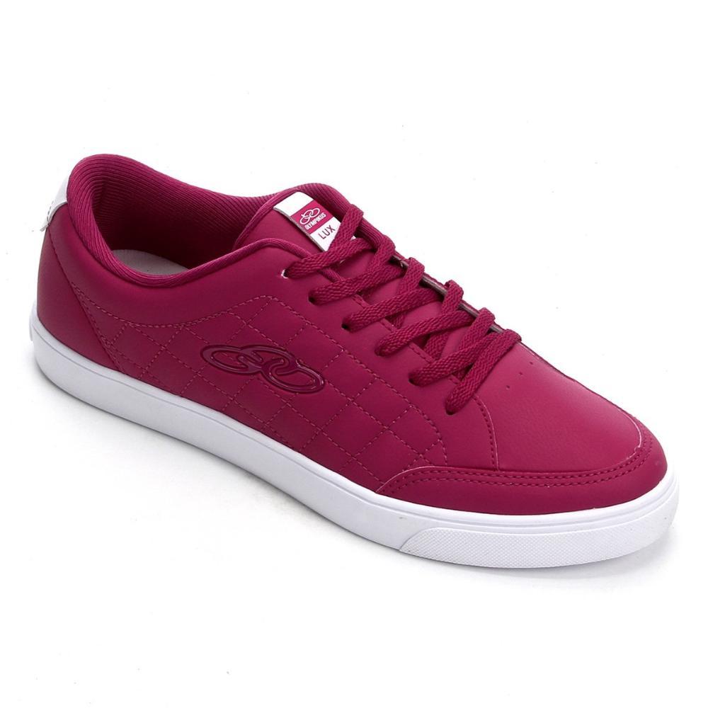 Tênis Casual Olympikus Lux Matelasse Pink