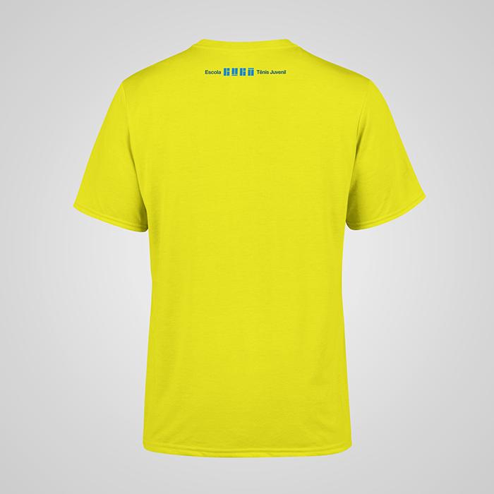 Camiseta Amarela Tênis Juvenil