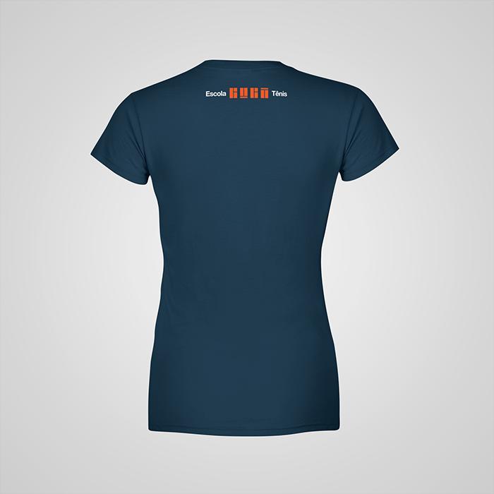 Camiseta Azul Night Educador Guga Tênis