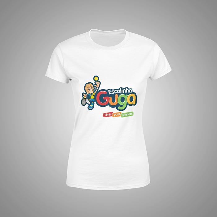 Camiseta Branca Educador Escolinha Guga