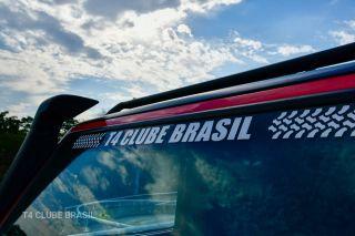 Testeira T4 Clube Brasil | 56 x 98 cm