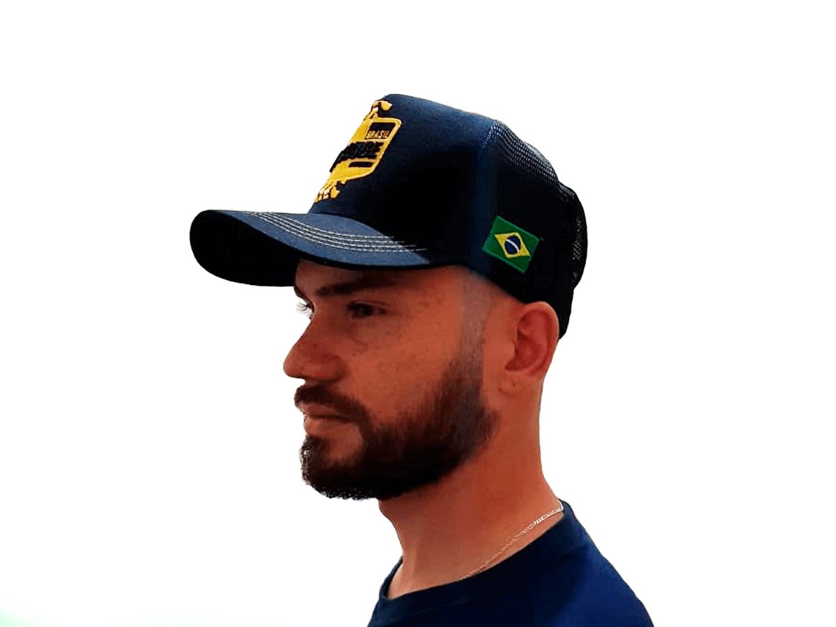 Boné T4 Clube Brasil | Modelo 2 | Adulto | Tamanho Único
