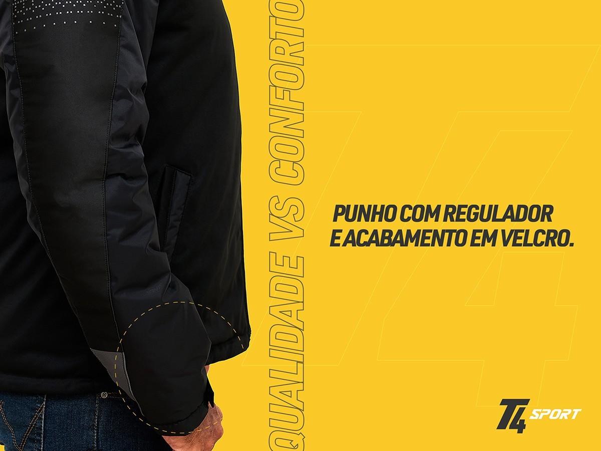 Nova Jaqueta T4 Sport + Patch Personalizado