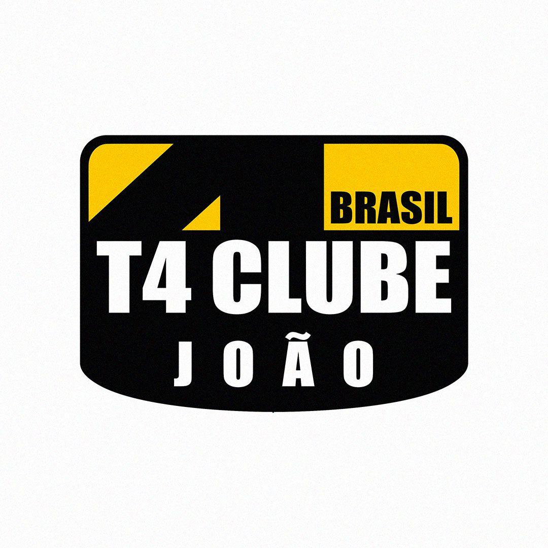 Placa com Nome/Apelido Membro T4 Clube Brasil