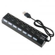 ADAPTADOR/CABO | USB HUB | 7 PORTAS